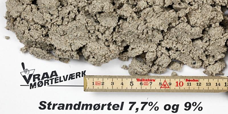 Vrå Strandmørtel 7,7%