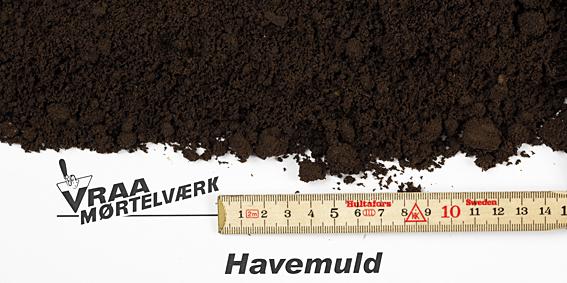 Havemuld - Harpet muld