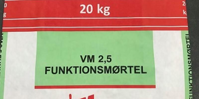 VM2,5 funktionsmørtel