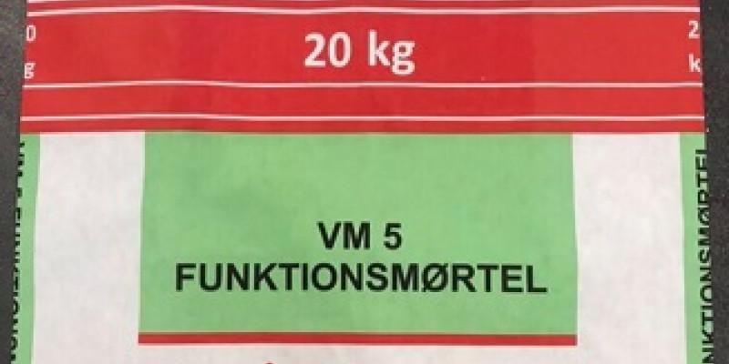 VM5 funktionsmørtel